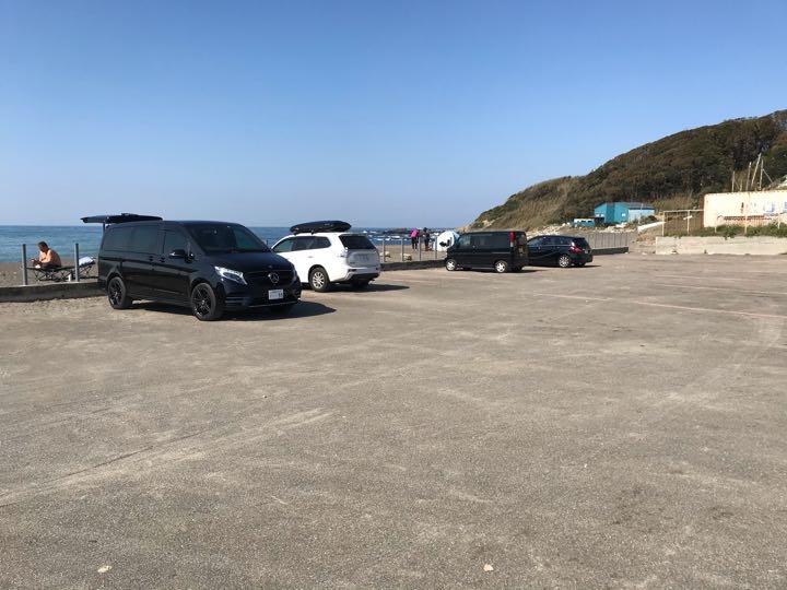 和田長浜海岸 追記 駐車場