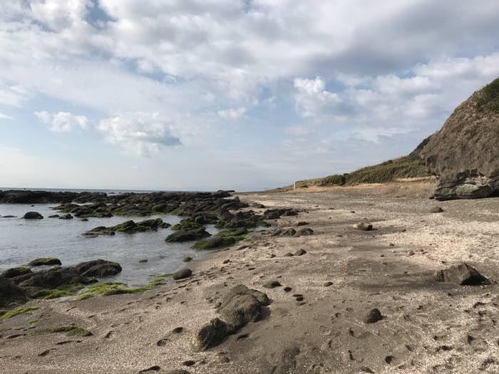 和田長浜海岸デイキャンプ散歩