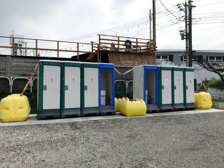 和田長浜海岸 トイレ2