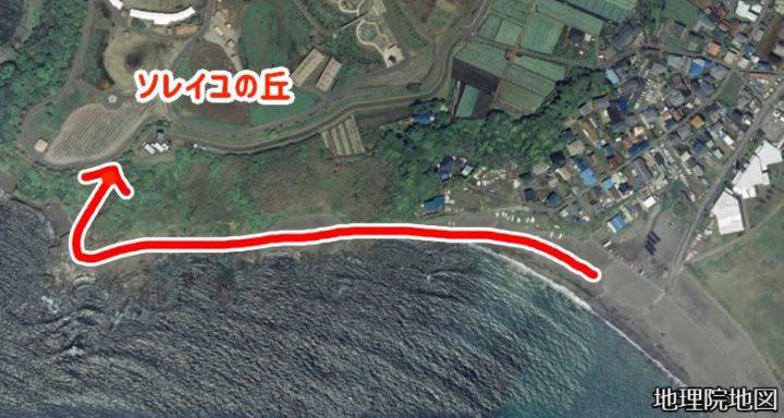 和田長浜海岸ソレイユの丘