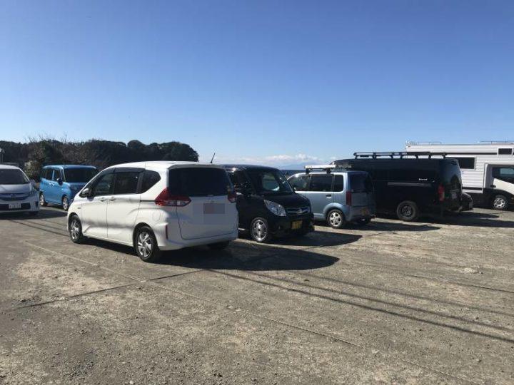 三戸浜海岸駐車場画像