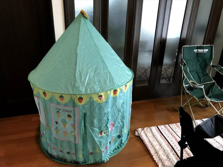 お部屋キャンプ 子供用テント