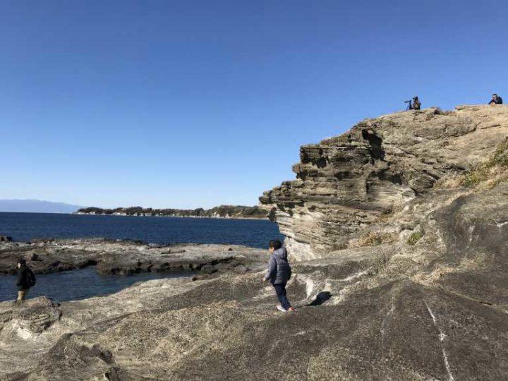 黒崎の鼻岩場