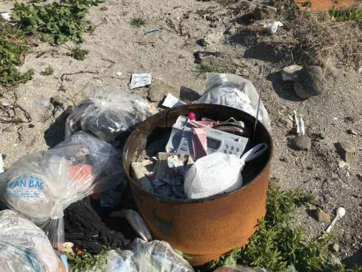 白浜毘沙門天ゴミ問題