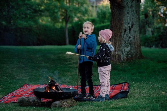 キャンプのマナー 子供とペット