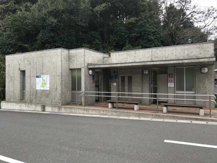 観音崎公園 第2駐車場 トイレ