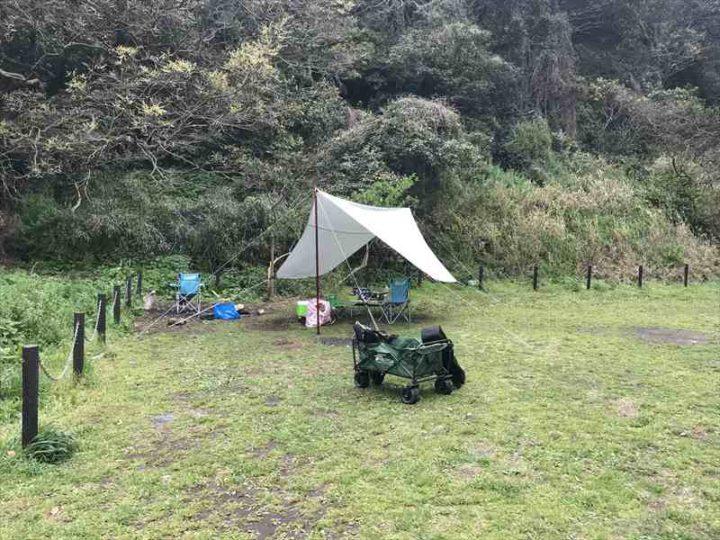 観音崎公園 デイキャンプ 設営