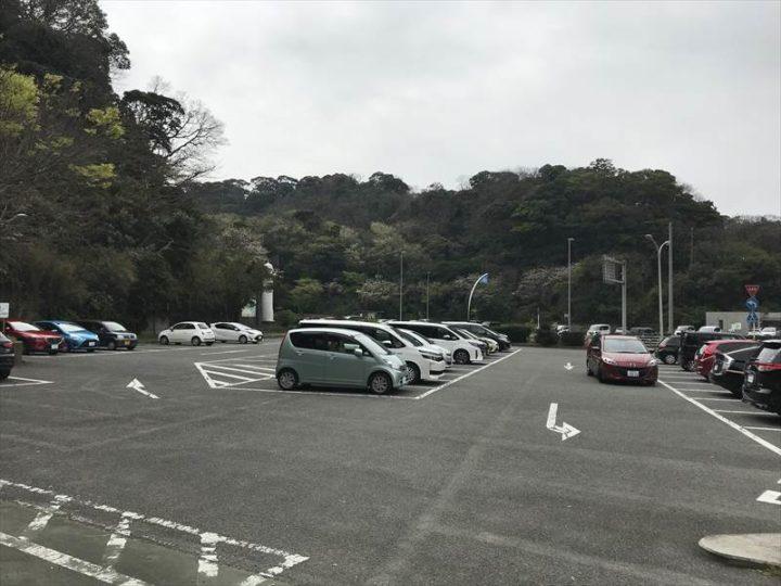 観音崎公園 第1駐車場