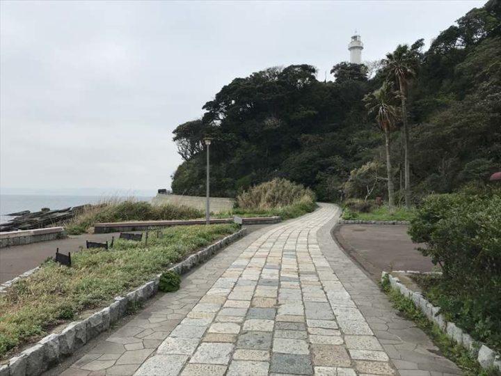 観音崎公園 遊歩道