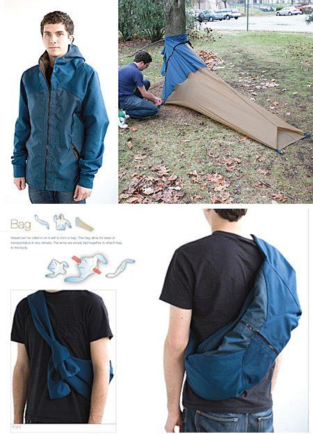 着るテント