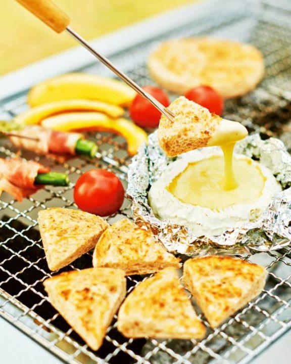 おすすめキャンプ飯 カマンベールチーズ