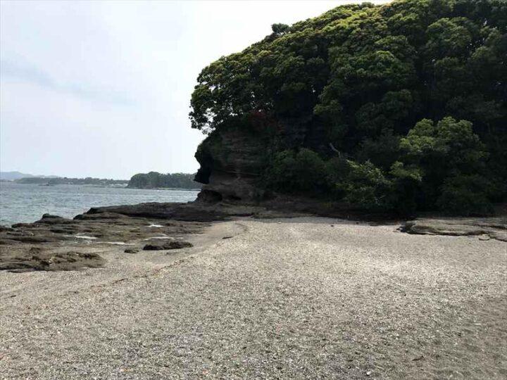油壺 胴網海岸