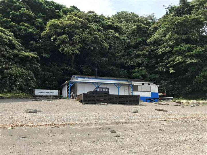 油壺 step camp base
