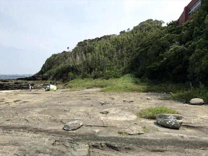 油壺 荒井浜 野営地2-1