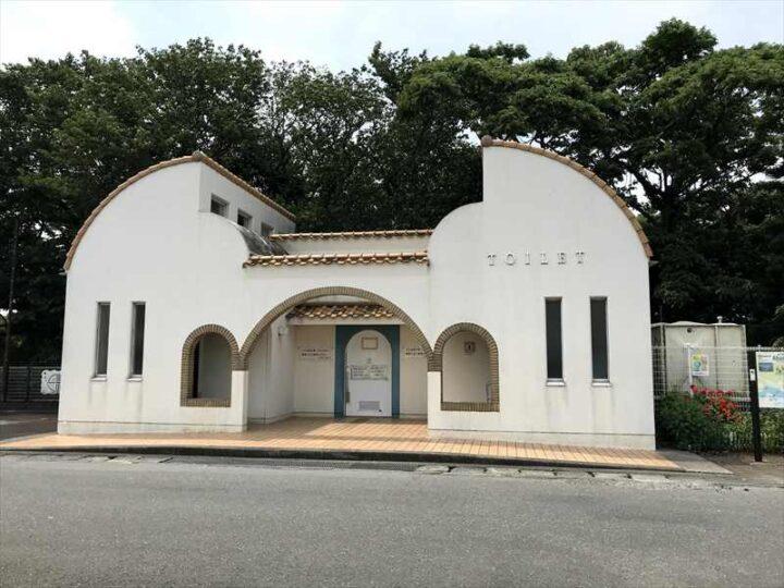 三浦市営油壺駐車場 トイレ