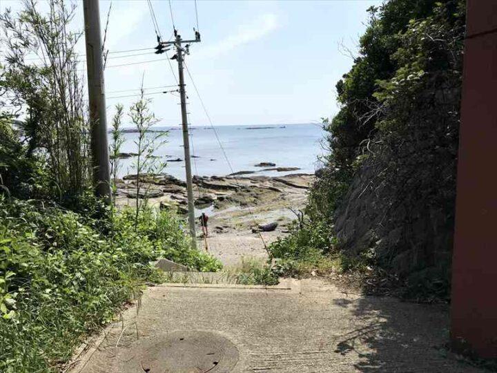 油壺 荒井浜への抜け道