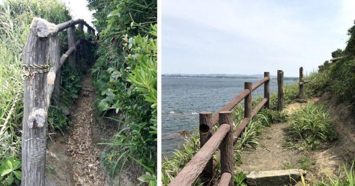 胴網海岸~荒井浜への行き方