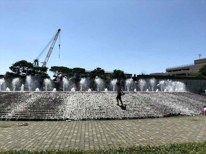 うみかぜ公園 噴水