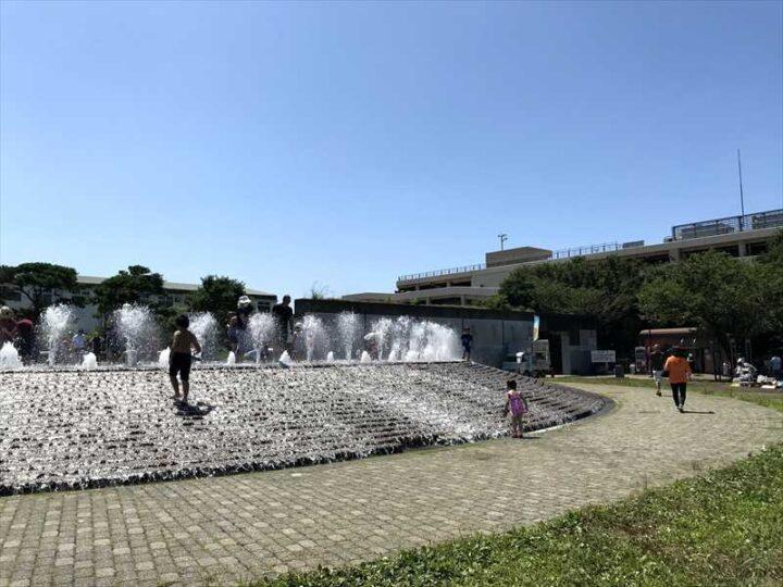 うみかぜ公園 噴水2