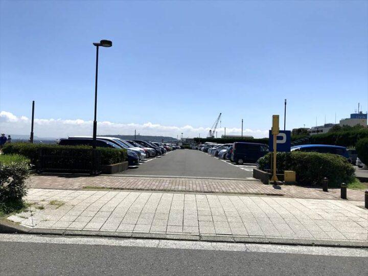 うみかぜ公園 駐車場