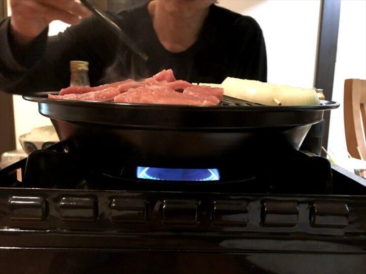 タフまる キャンプ 焼き肉プレート 点火