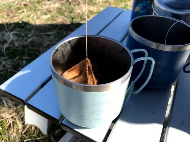 うみかぜ公園 デイキャンプ coffee outside