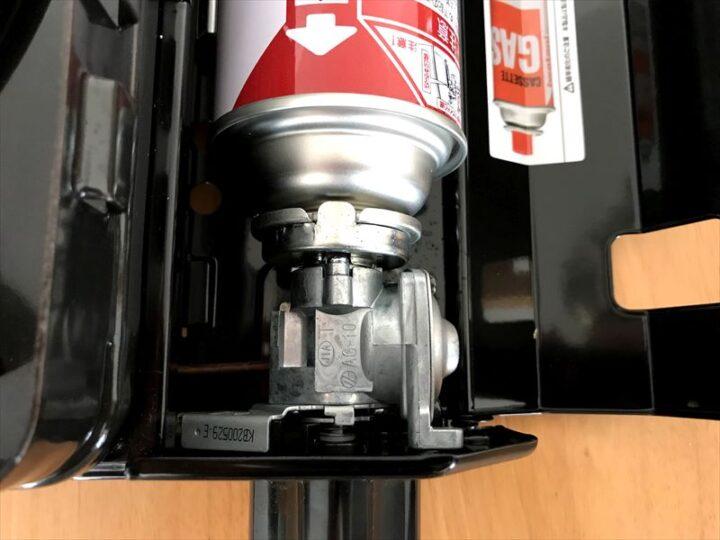イワタニ タフまる 容器着脱方法