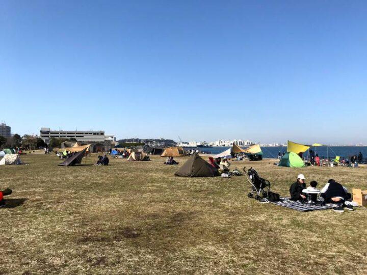 うみかぜ公園 デイキャンプ 冬