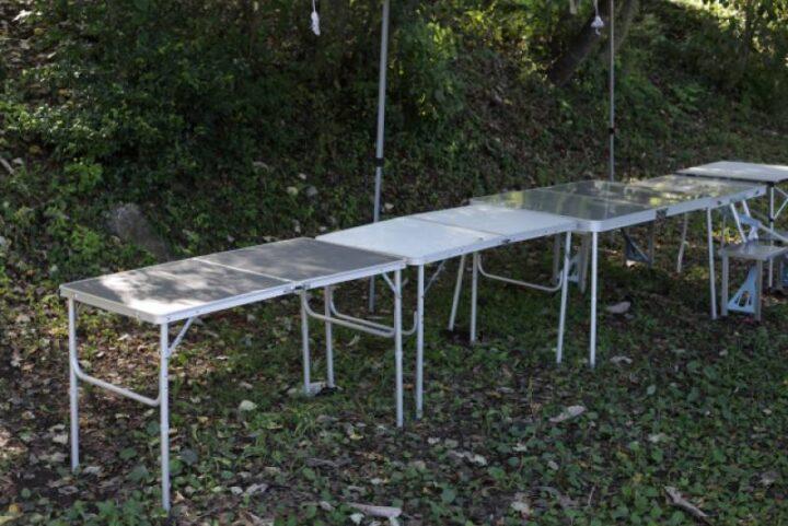 初めてのキャンプ道具 テーブル