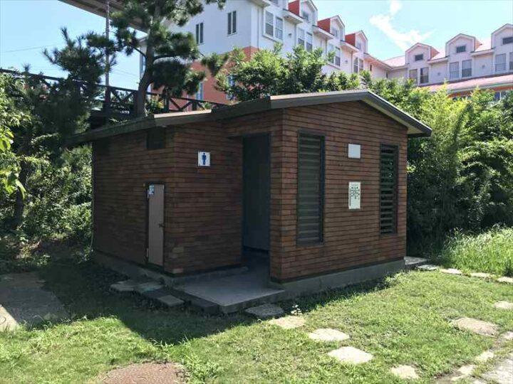 城ヶ島でバーベキュー 白秋碑苑ビーチサイド トイレ