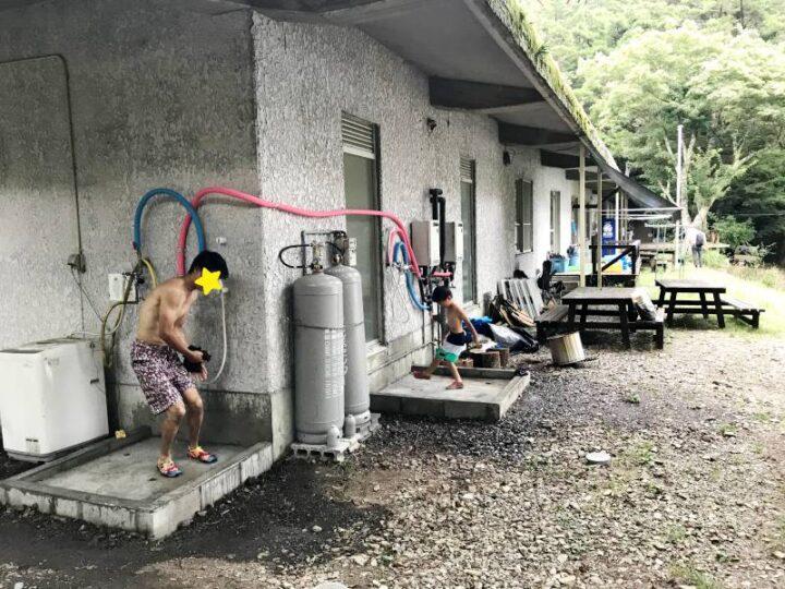 いこいの森キャンプ場 シャワー