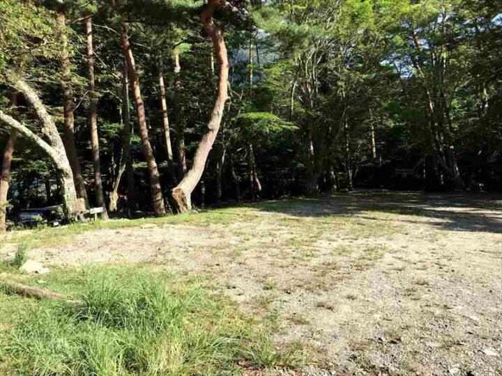 本栖湖いこいの森キャンプ場 Aサイト
