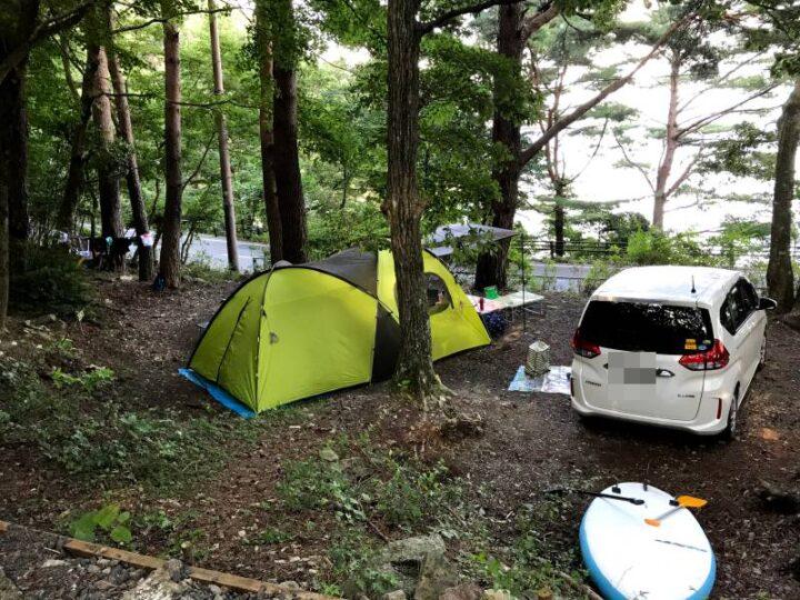 本栖湖いこいの森キャンプ場 A9サイト