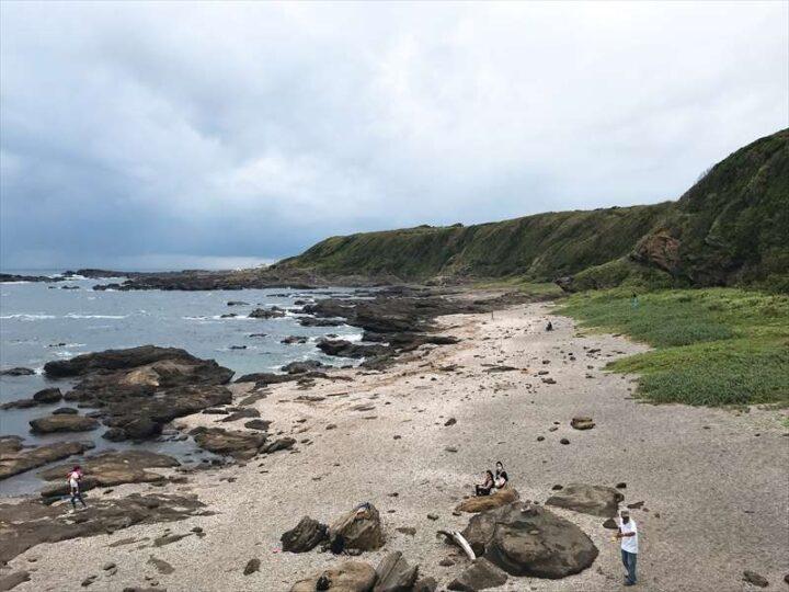 城ヶ島 馬の背洞門海岸