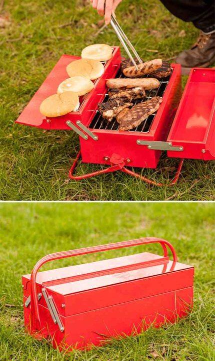 アメリカの焚き火台 工具箱