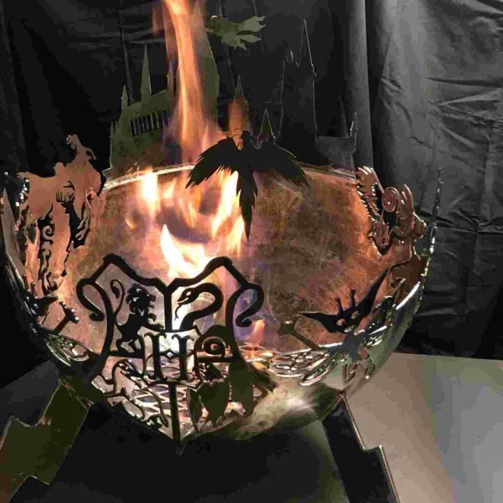 世界の面白い焚火台 ハリーポッター