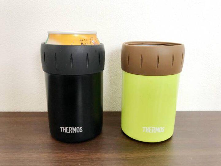 キャンプで便利な小物 サーモス缶ホルダー