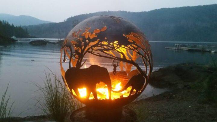 世界の面白い焚火台 サバンナ
