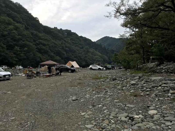 新戸キャンプ場 デイキャンプ