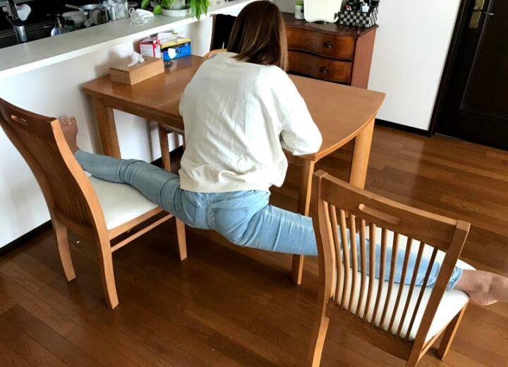 開脚キャンパー フラミン子 椅子開脚