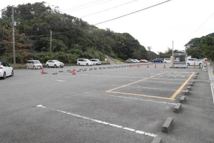 荒崎公園 デイキャンプ 駐車場