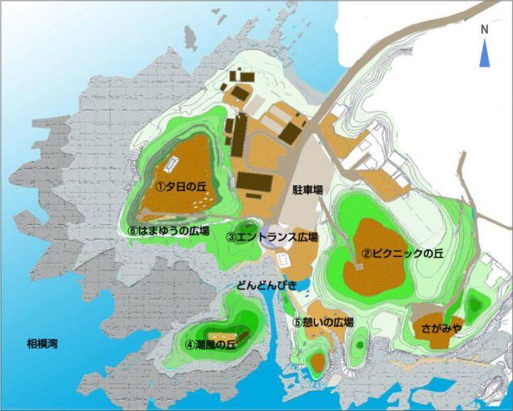 荒崎公園マップ