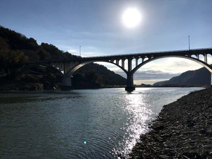 小倉橋 河川敷 キャンプ バーベキュー 旧小倉橋