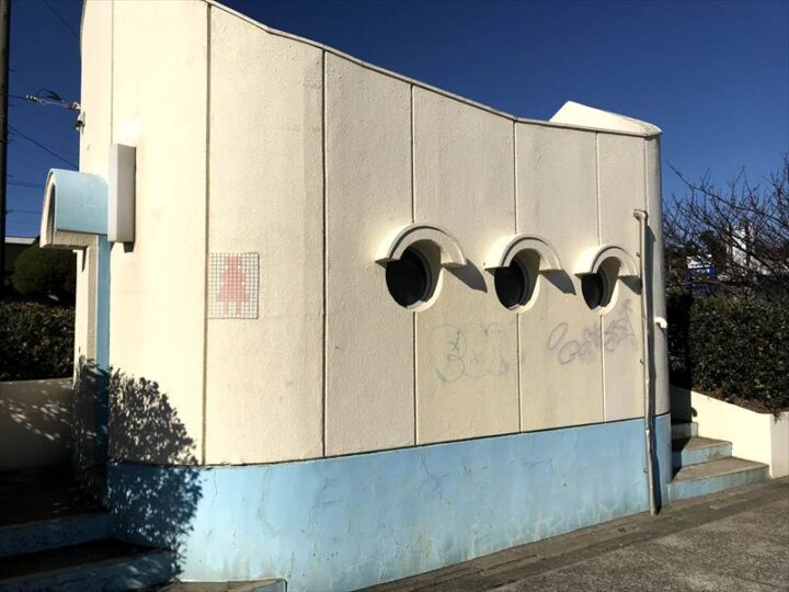 三浦海岸 バーベキュー トイレ1
