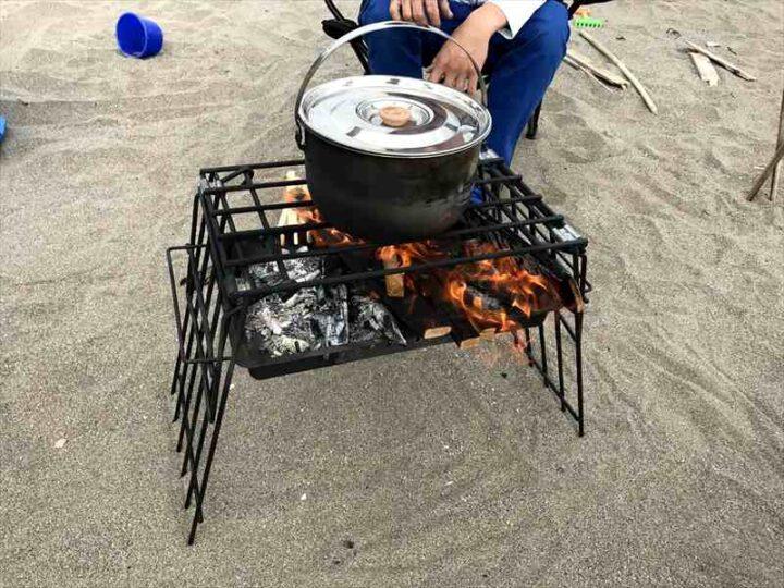 三浦海岸 デイキャンプ うどん