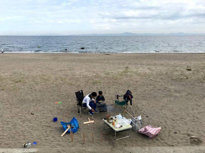三浦海岸 デイキャンプ ダサキャンプ