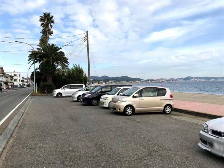 三浦海岸 無料駐車場