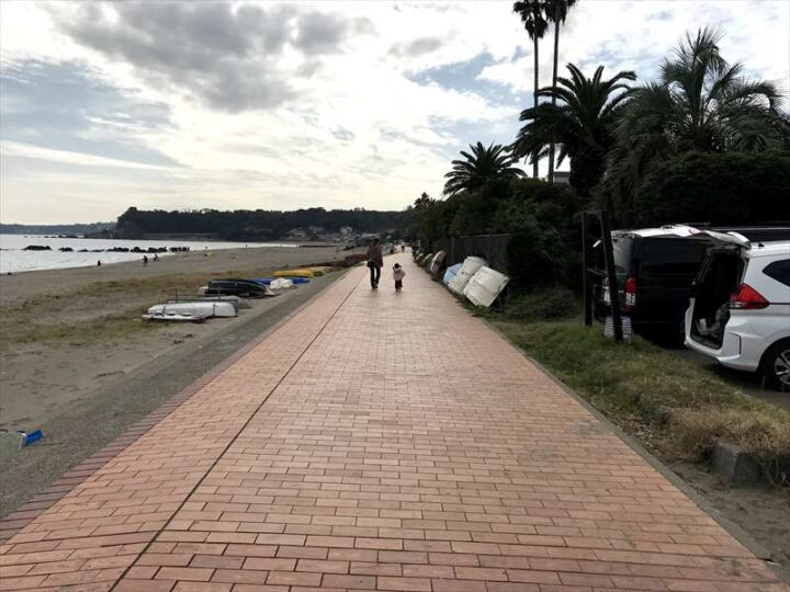 三浦海岸 遊歩道