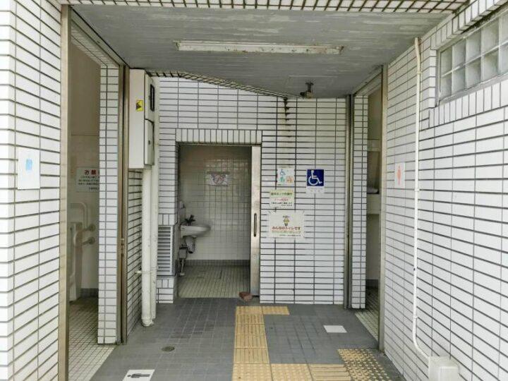 三浦海岸 トイレ1 バーベキュー
