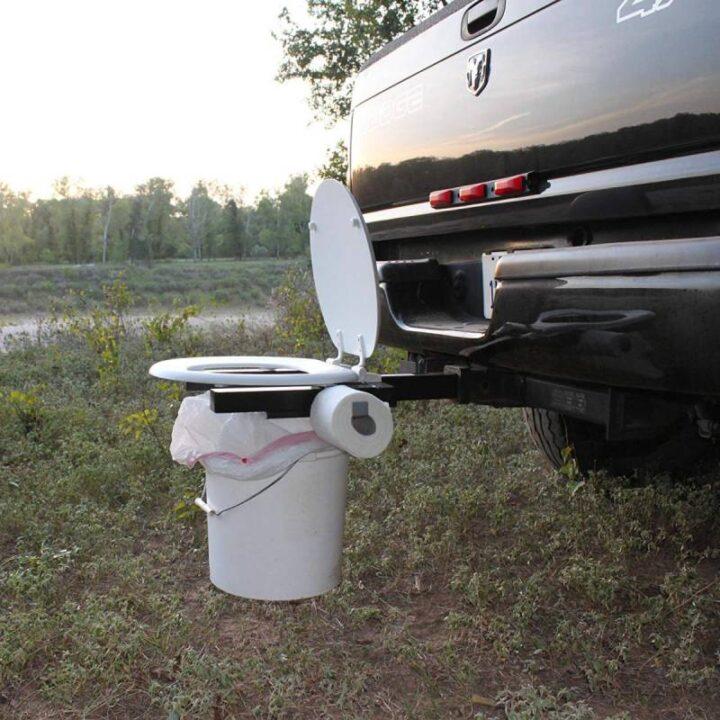 車に取り付けるポータブルトイレ
